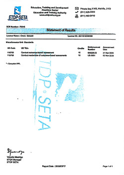 hazardous goods training - accreditation